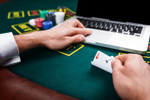 online gambling is a cyber crime